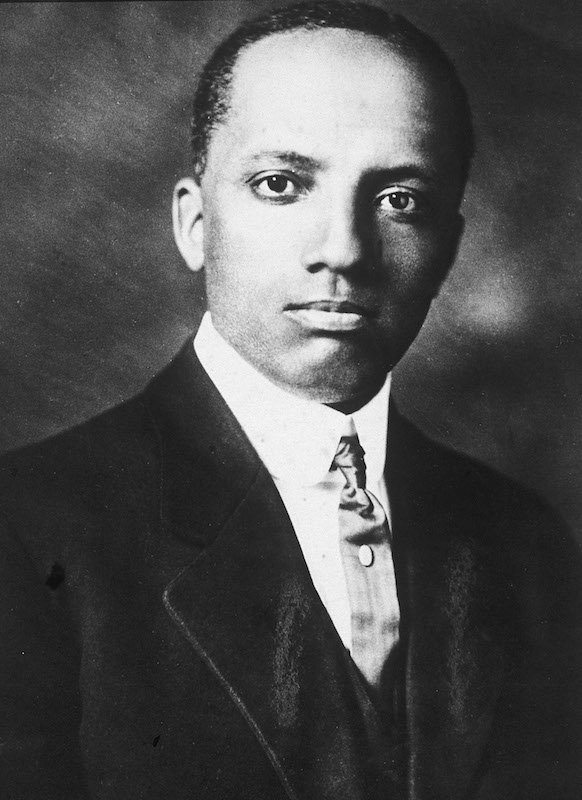 Portrait of Carter Woodson